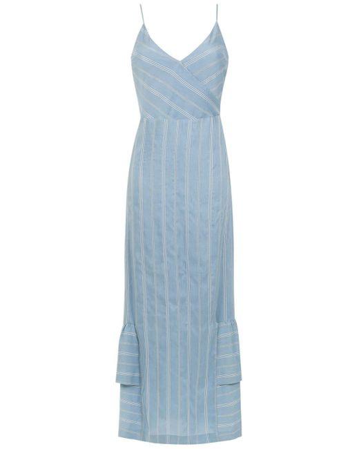 Fiora Long Dress Olympiah, цвет: Blue