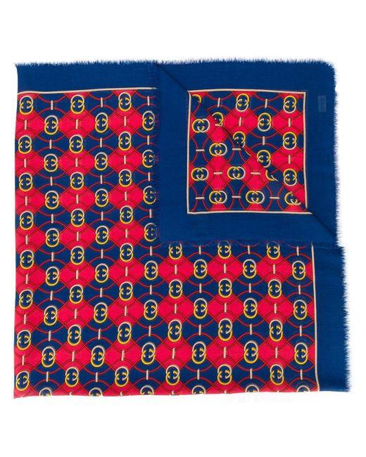 Gucci GGパターン スカーフ Multicolor