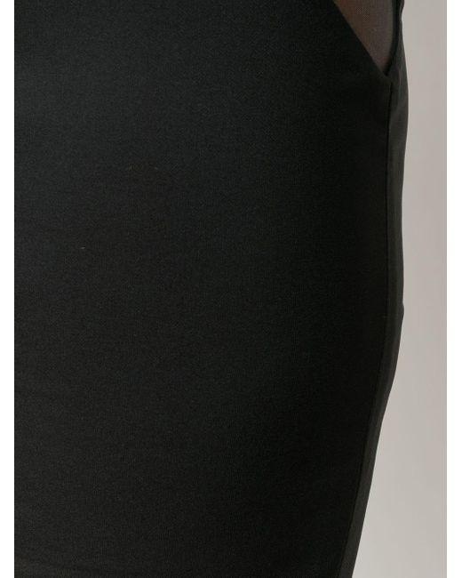 Loulou シアー ミニスカート Multicolor