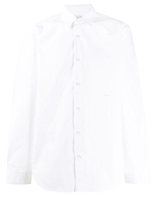 メンズ Bottega Veneta ロゴ シャツ White