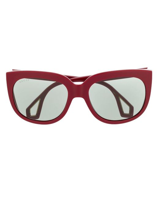 Gucci ダブル眼鏡フレーム Red