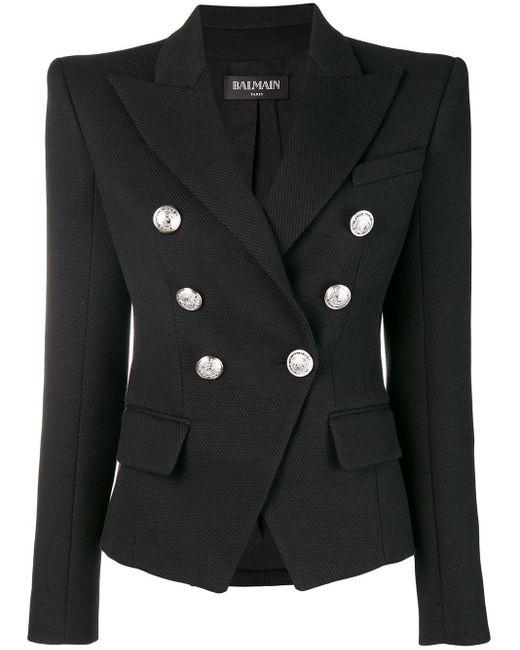 Balmain テーラードジャケット Black