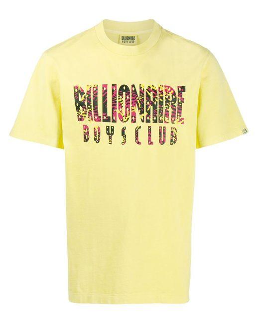 メンズ BBCICECREAM ロゴ Tシャツ Yellow