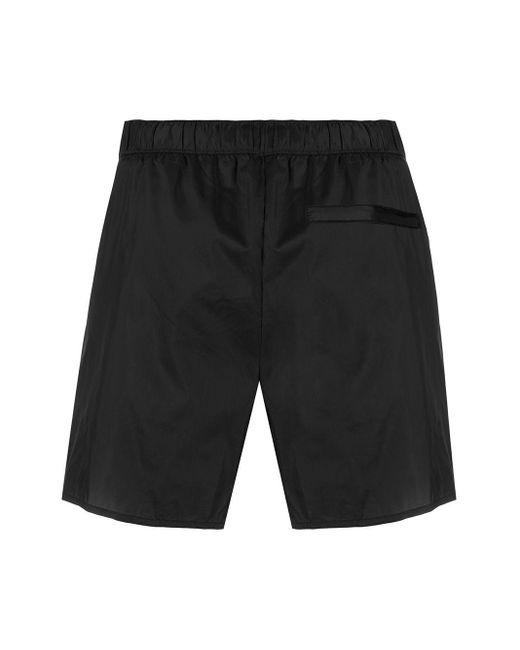 Acne Studios Men's Black Plain Swim Shorts