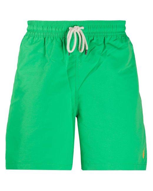 メンズ Polo Ralph Lauren Traveler トランクス水着 Green