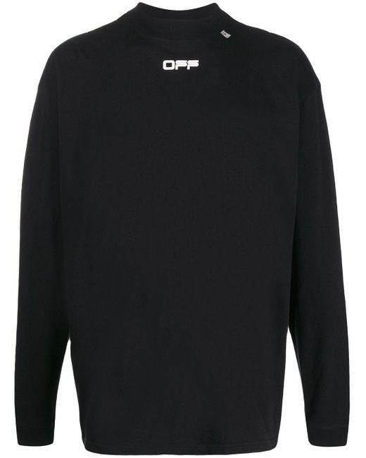 メンズ Off-White c/o Virgil Abloh ロングtシャツ Black