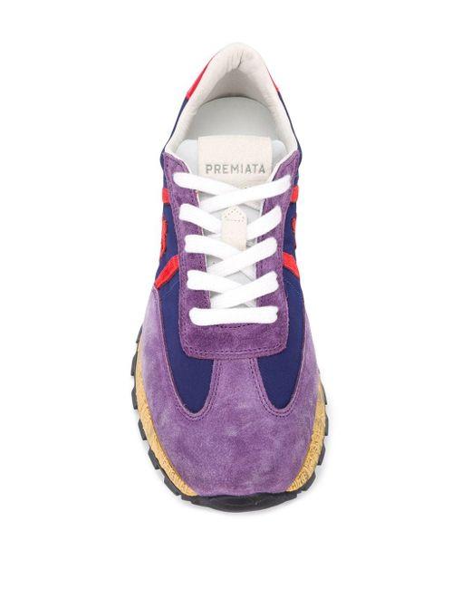 Baskets John Lowd Premiata en coloris Purple