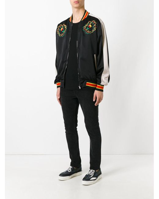 95f9409be Stella McCartney Synthetic Nice One Bomber Jacket in Black for Men ...