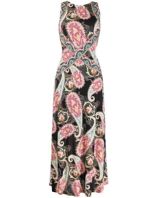 Etro ペイズリー ドレス Multicolor
