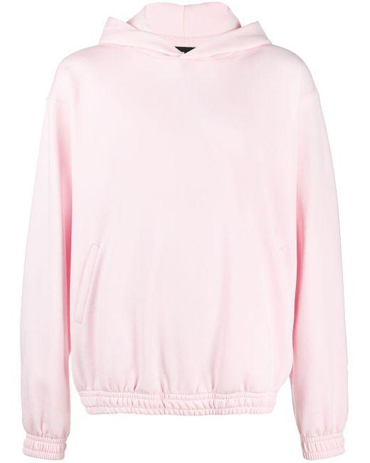 Styland プルオーバー パーカー Pink
