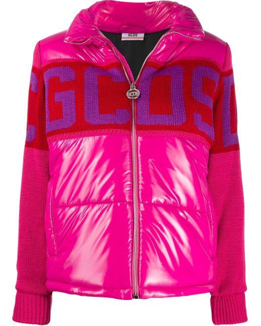 Gcds パデッドジャケット Pink