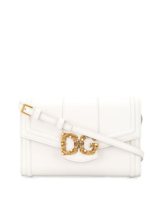Dolce & Gabbana Dg Amore ショルダーバッグ White