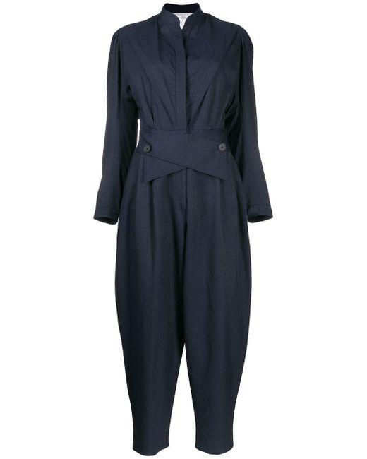 Stella McCartney パネル ジャンプスーツ Blue