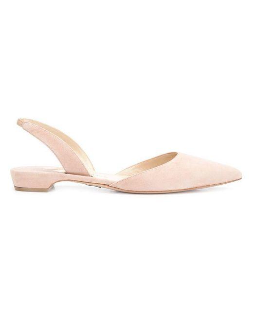 Paul Andrew - Pink 'rhea' Ballerinas - Lyst