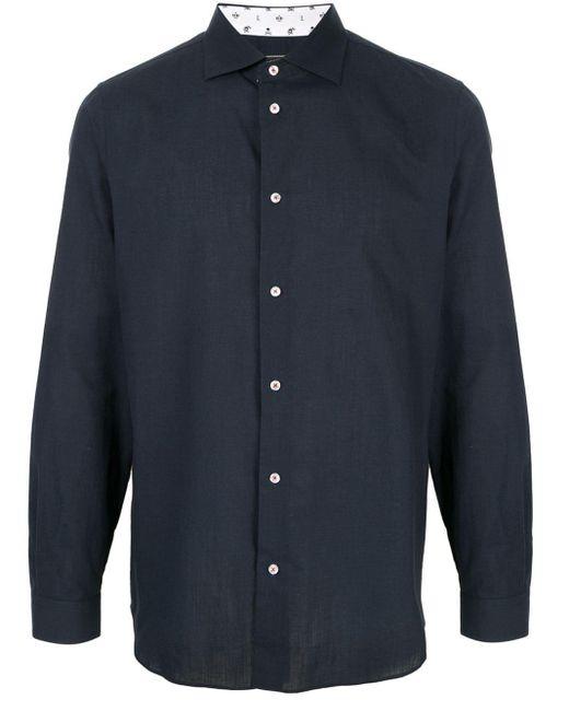Loveless Blue Classic Shirt for men