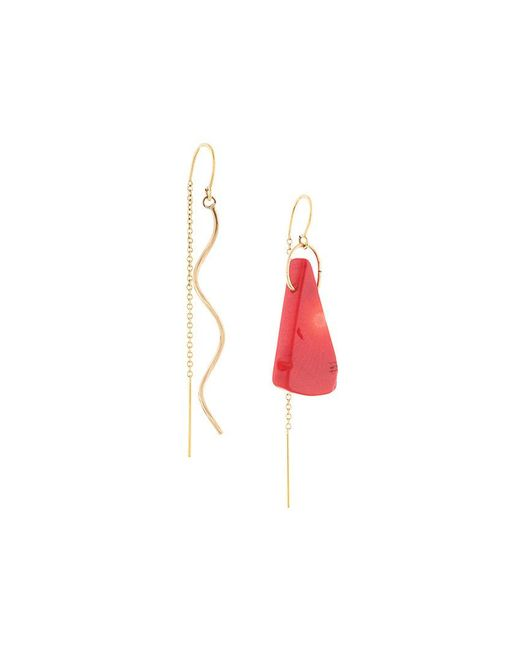 Petite Grand - Metallic Paint Earrings - Lyst