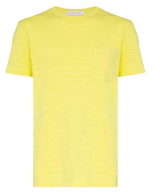 メンズ Orlebar Brown Sammy Ii ショートスリーブ Tシャツ Yellow