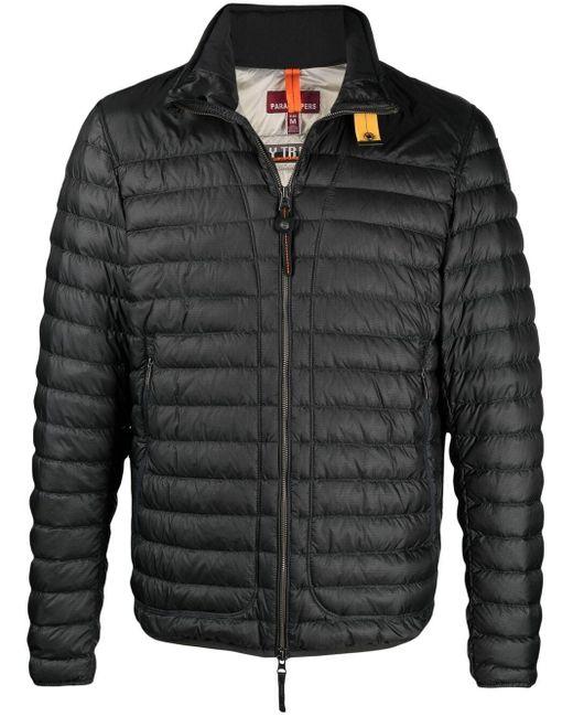 メンズ Parajumpers ジップアップ パデッドジャケット Black