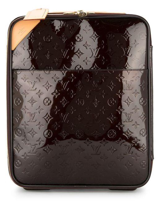 Louis Vuitton Vernis Pegase 45 スーツケース Multicolor