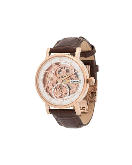 Montre The Herald 40 mm INGERSOLL WATCHES pour homme en coloris Brown