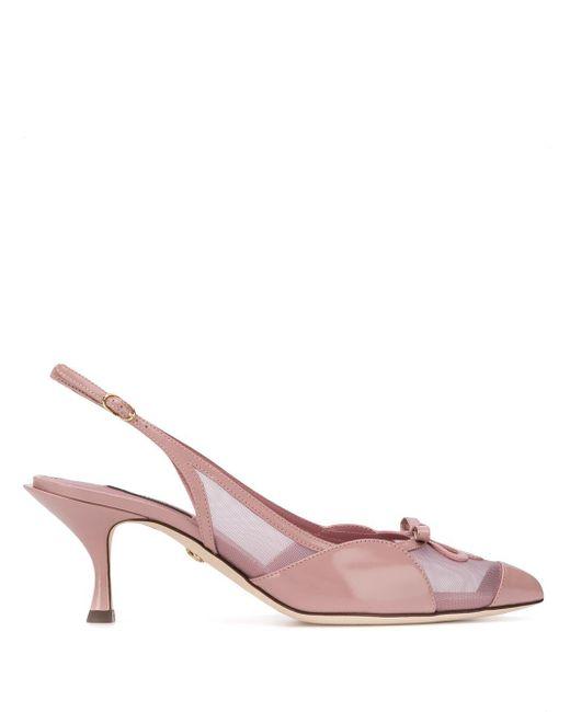 Dolce & Gabbana スリングバック パンプス Pink