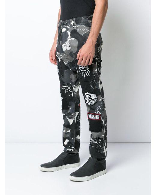 メンズ Haculla Punk Da Funk パンツ Black