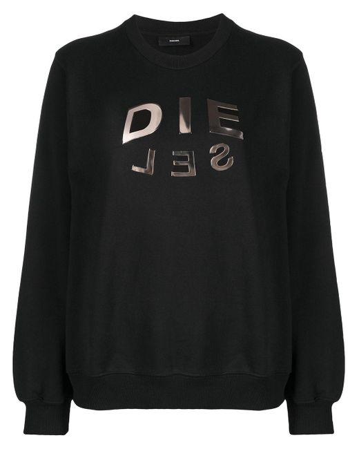 DIESEL F-ang-r20 スウェットシャツ Black