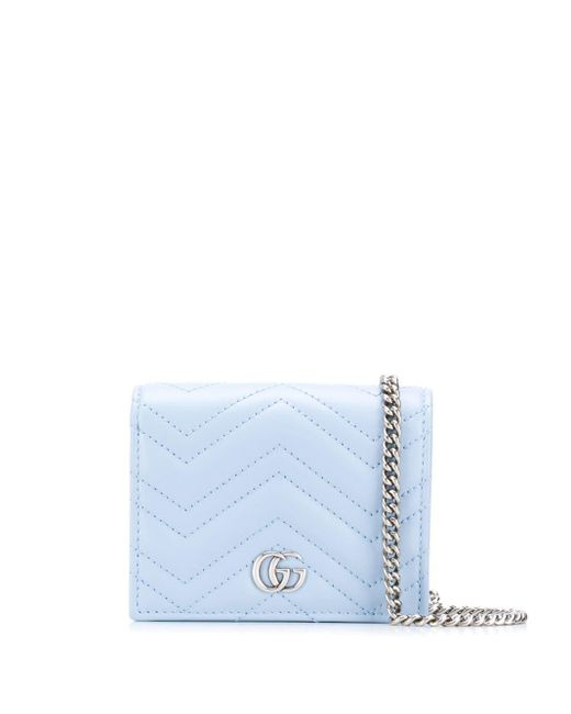 Кошелек GG Marmont Gucci, цвет: Blue