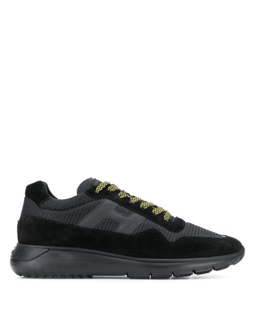 Hogan Black Low Top Sneakers for men
