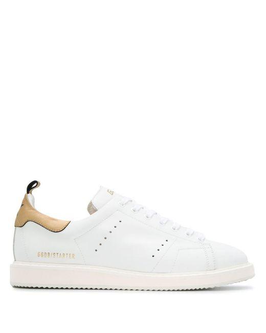 メンズ Golden Goose Deluxe Brand Starter スニーカー White