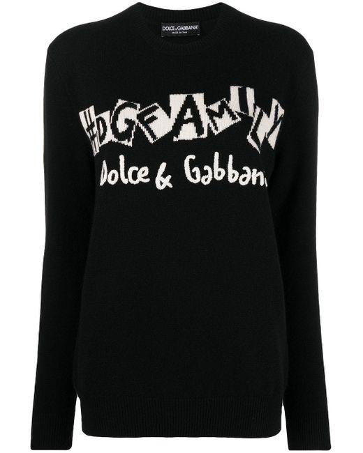 Dolce & Gabbana ロゴ セーター Black