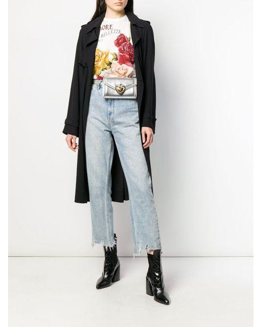 Поясная Сумка Devotion Dolce & Gabbana, цвет: Multicolor