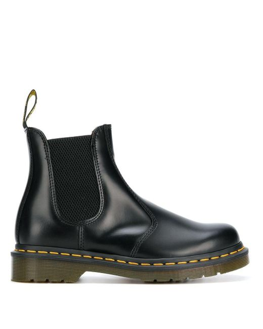 Ботинки С Эластичными Боковыми Вставками Dr. Martens, цвет: Black