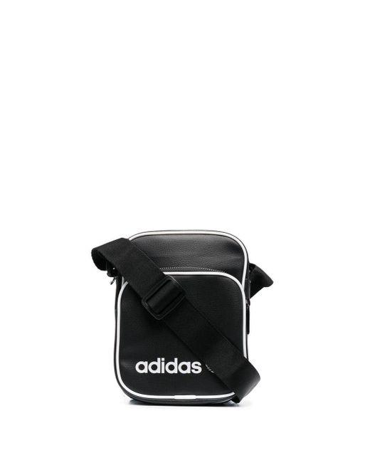 Adidas ロゴ ショルダーバッグ Black