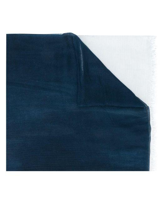 Faliero Sarti グラデーション スカーフ Blue