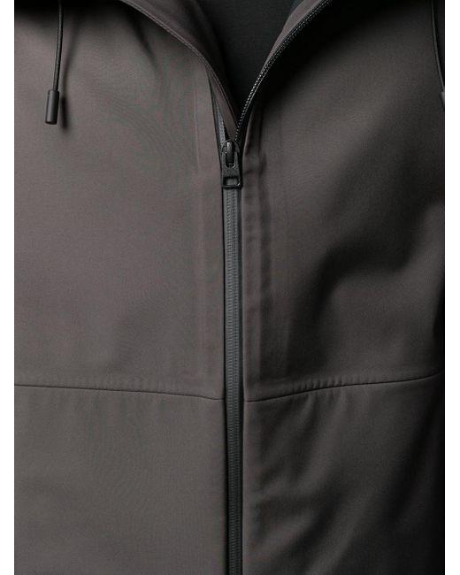 Пальто С Капюшоном Bottega Veneta для него, цвет: Gray