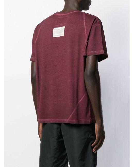 メンズ A_COLD_WALL* Rhombus プリント Tシャツ Red