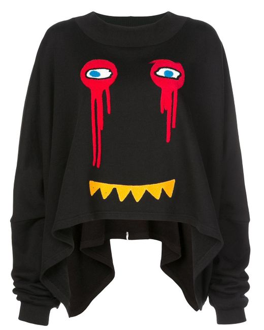 Haculla Drippy Extended スウェットシャツ Black