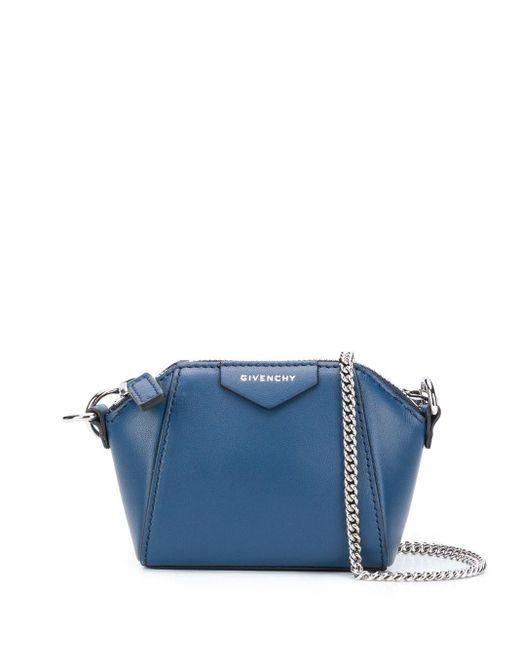 Сумка Через Плечо Antigona Givenchy, цвет: Blue