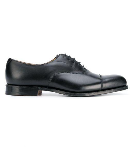 Church's Black Lace Up Shoes for men