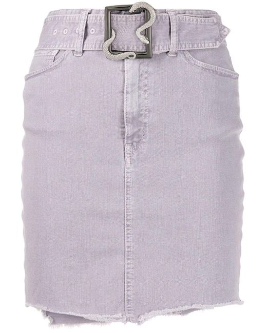 Just Cavalli デニムスカート Purple