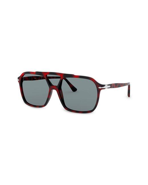 Gafas de sol estilo aviador Persol de hombre de color Blue