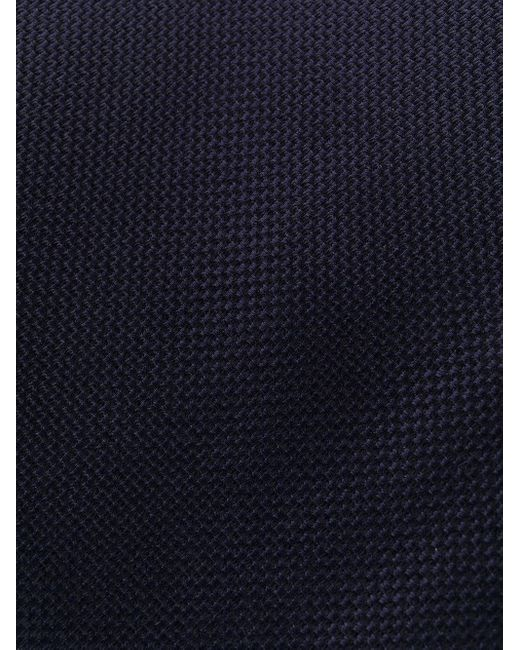 メンズ Tom Ford シルク ネクタイ Blue