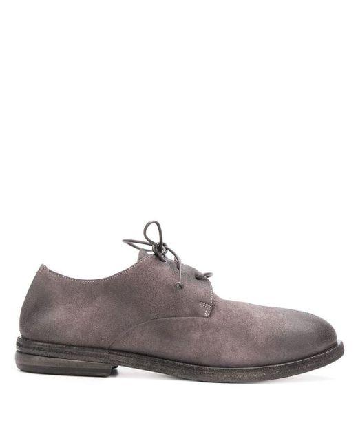 Marsèll Listolo Schoenen Met Veters in het Gray voor heren