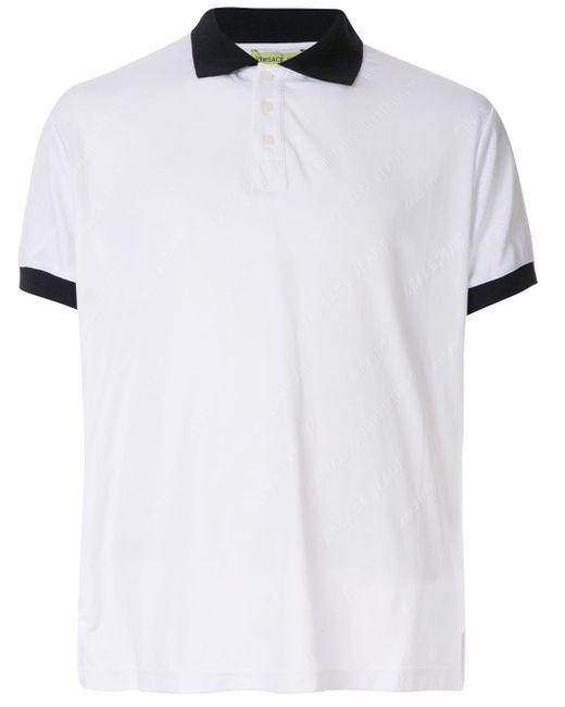 メンズ Versace Jeans ロゴ ポロシャツ White