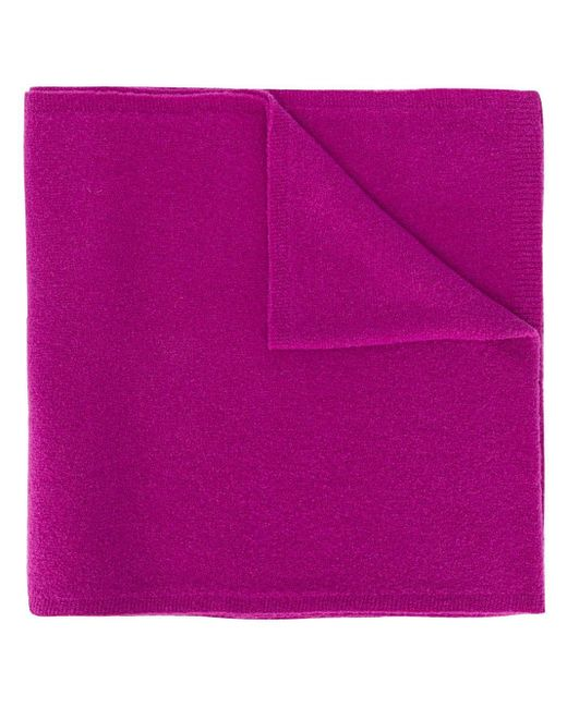 Christian Wijnants リブエッジ スカーフ Purple