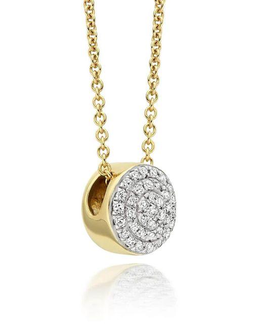 Monica Vinader Gp Fiji ダイヤモンド ネックレス Metallic