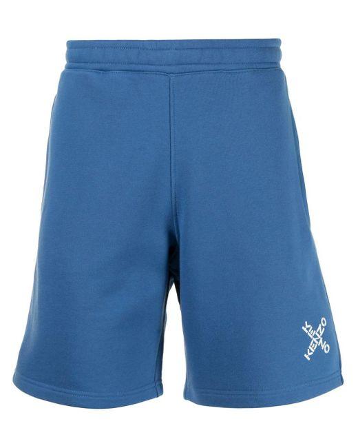メンズ KENZO Sport 'little X' ショートパンツ Blue