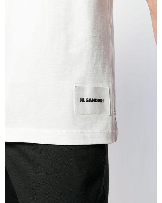 メンズ Jil Sander クルーネック Tシャツ White