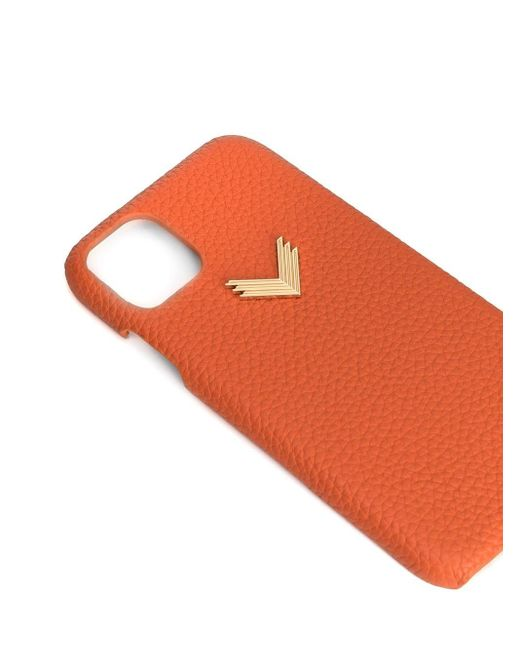 Manokhi X Velante Iphone 11 ケース Orange